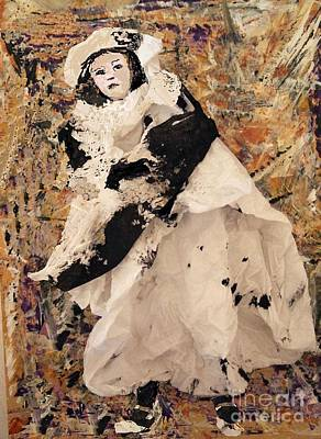 Mixed Media - Little Girl by Nancy Kane Chapman