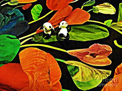 Photograph - Little Glass Pandas 57 by Sarah Loft