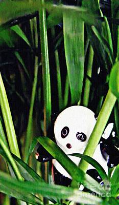 Photograph - Little Glass Pandas 59 by Sarah Loft