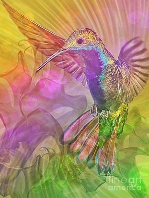Digital Art - Little Glorious One by Maria Urso