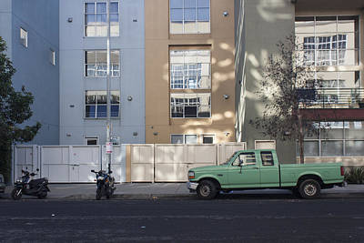 Photograph - Little Green Truck by Suzanne Gaff