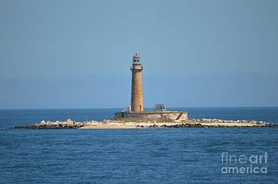 Photograph - Little Gull Lighthouse by Michelle Welles