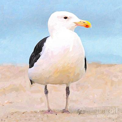 Painting - Little Gull by Tammy Lee Bradley