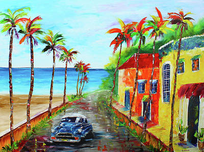 Painting - Little Havana by Kevin Brown