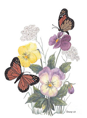 Little Heartsease Art Print by Stanza Widen