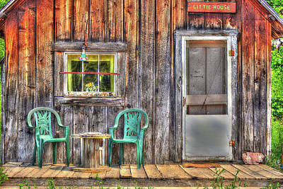 Photograph - Little House Life by Richard J Cassato