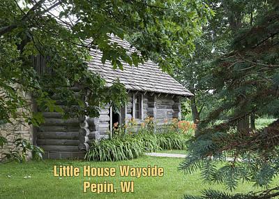 Little House Wayside Card Art Print by George Hawkins