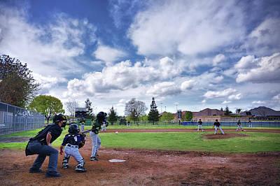 Cal Ripken Photograph - Little In League - Big In Spirit by Steven Clark