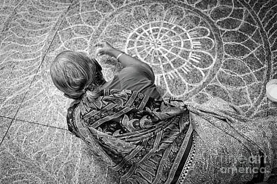 Photograph - Little India Kolam by Dean Harte