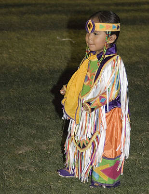 Photograph - Little Indian by Joel Gilgoff