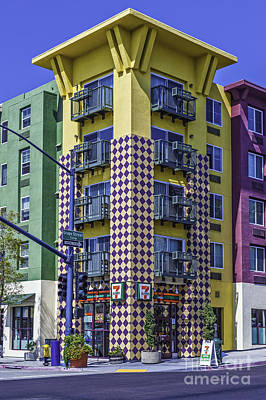 Photograph - Little Italy Condos San Diego  by David Zanzinger