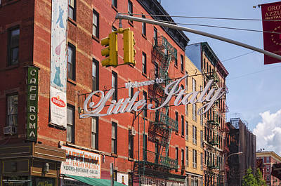 Photograph - Little Italy by Marianne Campolongo