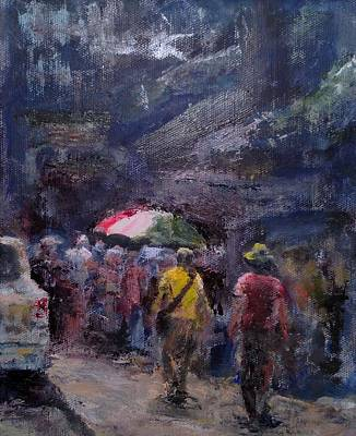 Painting - Little Italy. Nyc by Edward White