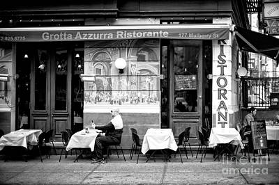 Photograph - Little Italy Selfie by John Rizzuto