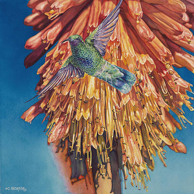 Calendars Mixed Media - Little Jewel by Carole Niclasse