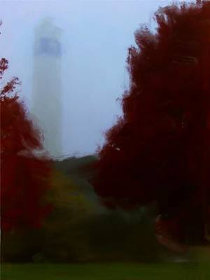 Digital Art - Little Joe In Morning Fog by Tom Tunnicliff