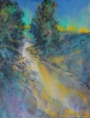 Joshua Painting - Little Joshua Creek No 1 by Virgil Carter
