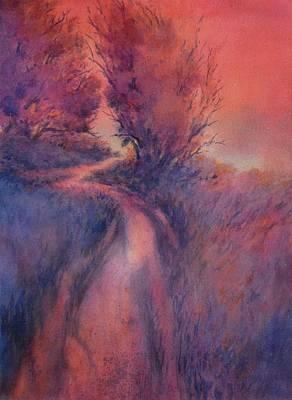 Little Joshua Creek No 2 Art Print by Virgil Carter