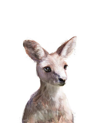 Painting - Little Kangaroo by Amy Hamilton