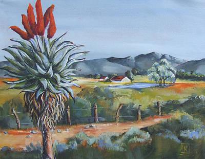 Countryside Farm 2 Original by Kareni Bester