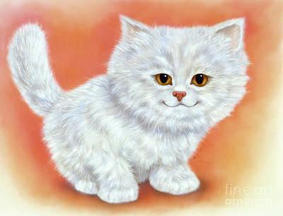 Little Kitten 2 Art Print
