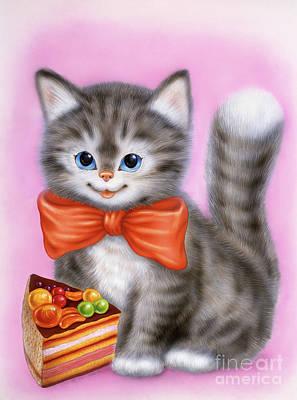 Little Kitten 6 Art Print