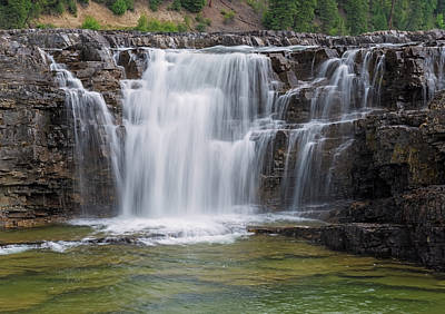 Photograph - Little Kootenai Falls by Loree Johnson