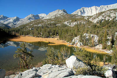 Photograph - Little Lakes Valley by Frank Townsley