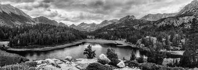 Photograph - Little Lakes Valley Panorama by Alexander Kunz