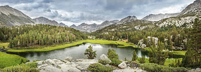 Photograph - Little Lakes Valley Panorama - Color by Alexander Kunz