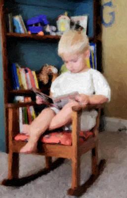 Little Learner Art Print by Lyle  Huisken