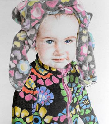 Little Luna Art Print