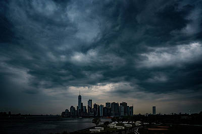Photograph - Little Manhattan Under A Cloud by Chris Lord