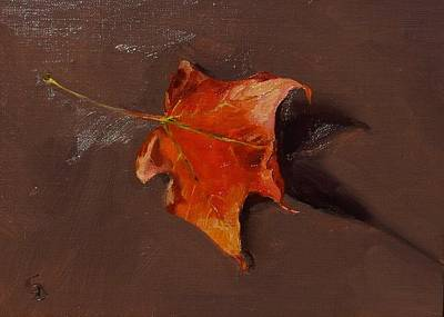 Painting - Little Maple Leaf by Grace Diehl