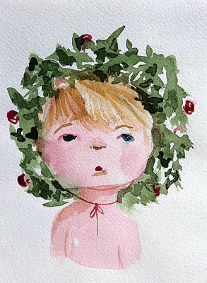 Little Miss Merry Original by Mindy Newman