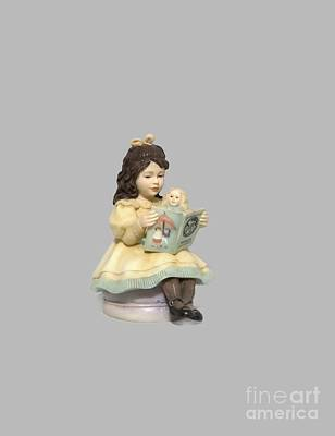 Photograph - Little Miss Muffet Cutout by Linda Phelps