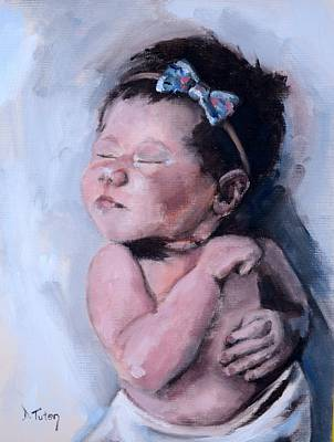 Painting - Little Miss Quinn by Donna Tuten