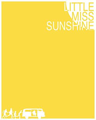 Hippie Van Digital Art - Little Miss Sunshine - Yellow by Finlay McNevin