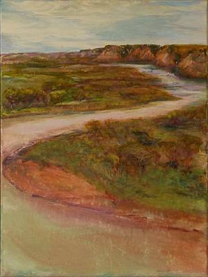 Painting - Little Missouri Overlook  by Helen Campbell