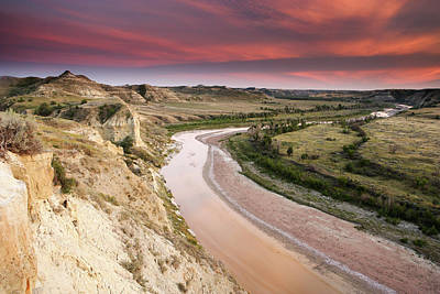 Photograph - Little Missouri River by Eric Foltz