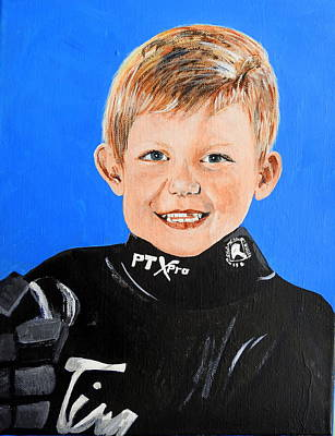 Painting - Little Mister G by Betty-Anne McDonald
