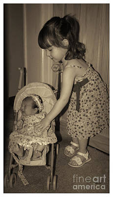 Photograph - Little Mommy by Claudia Ellis