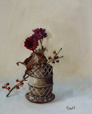 Painting -  Little Mums by Grace Diehl