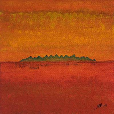 Painting - Little Needles Original Painting by Sol Luckman