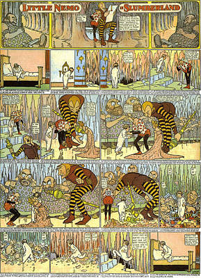 Painting - Little Nemo In Slumberland 1905 P5 by R Muirhead Art