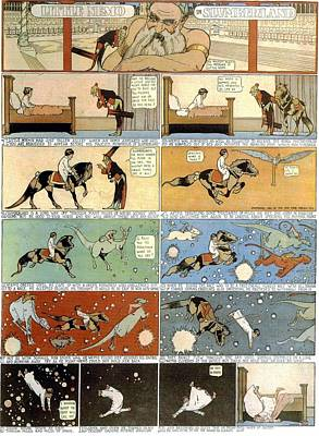 Painting - Little Nemo In Slumberland 1905 P0 by R Muirhead Art