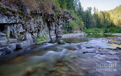 Photograph - Little North Fork Of The Cda II by Idaho Scenic Images Linda Lantzy