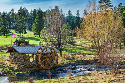 Photograph - Little Old Mill by Dan McGeorge