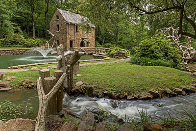 Photograph - Little Old Mill  North Little Rock Arkansas 4 by Willie Harper