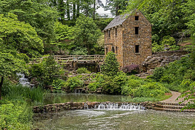 Photograph - Little Old Mill  North Little Rock Arkansas by Willie Harper